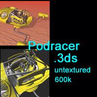 Free Podracer by Django